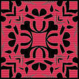 Fliese-nahtloses Muster Stockfoto