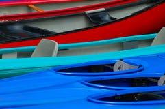 Fliese von Rowboats stockbilder