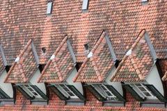 Fliesedach Stockfotografie