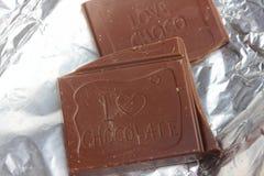 Fliesen der köstlichen Schokolade Stockfotografie