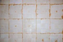 Fliesen des Gipses 3d auf der Wand, Reparaturarbeit, Lizenzfreies Stockfoto