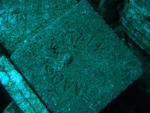 Fliesen des Wrackes Chrisola K stockbild