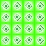 Fliesen hergestellt vom grünen Diamanten Lizenzfreies Stockbild