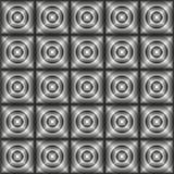 Fliesen hergestellt von den Kreisen Stockbilder