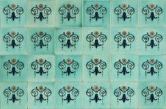 Fliesen Peranakan-Art Stockbild