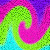 Fliesen-Rotations-Illustration Lizenzfreie Stockfotografie