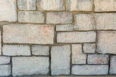 Fliesen-Wandhintergrund des alten Ziegelsteines des Schmutzes horizontaler Lizenzfreie Stockfotos