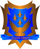 Fligh group Royalty Free Stock Photos