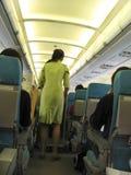 In-Flight stock afbeelding