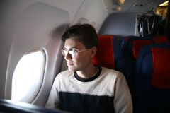 In the flight Stock Photos