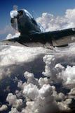 In flight Royalty Free Stock Photo