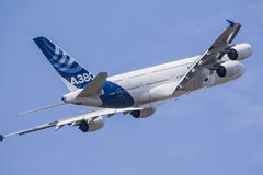 Airbus A-380 Stock Photo