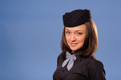 Flight attendant Stock Photo