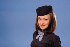 Flight attendant Stock Photo