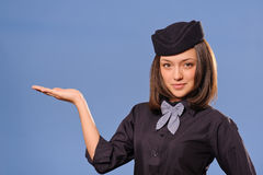 Flight attendant Stock Photography