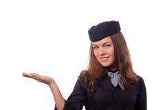 Flight attendant Royalty Free Stock Image