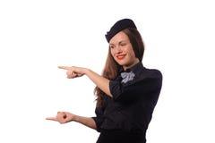Flight attendant Royalty Free Stock Photo