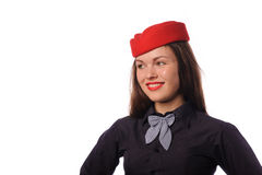 Flight attendant Royalty Free Stock Photos