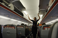 Flight attendant Stock Image