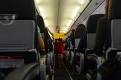 Flight attendant Stock Image