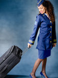 Flight attendant Royalty Free Stock Photo