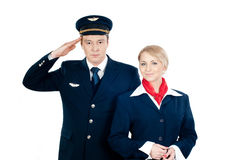 Flight Attendants Royalty Free Stock Photo