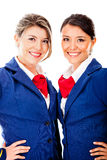 Flight attendants Stock Photos