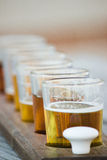 Flight of Beer Stock Photos