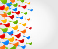 Flight of birds3 Royalty Free Stock Photos