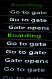 Flight board Stock Images