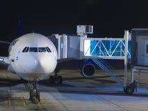 Flight boarding Royalty Free Stock Photo