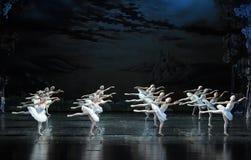 Flight Brigade-The Swan Lakeside-ballet Swan Lake Stock Photography