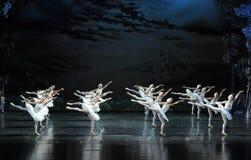 Flight Brigade-The Swan Lakeside-ballet Swan Lake Stock Photo