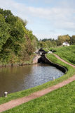 Flight of Canal Locks Royalty Free Stock Photography