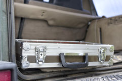 Flight Case In A Boot Stock Images