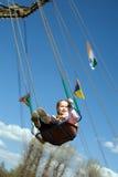 Flight of childhood stock photo