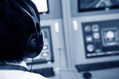 Flight controller Stock Images
