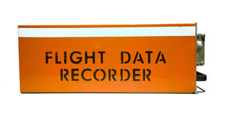 Flight data recorder Royalty Free Stock Photos