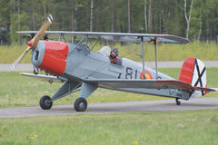 Flight day 11 May, 2014 at Kjeller (airshow) Stock Photography