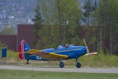 Flight day 11 May, 2014 at Kjeller (airshow) Royalty Free Stock Images