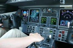 Flight Deck Royalty Free Stock Image