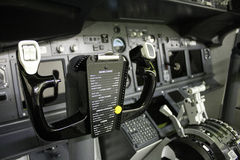 Flight Deck Controls Stock Image