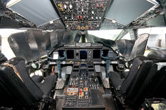 Flight Deck of Spartan C27J Stock Image