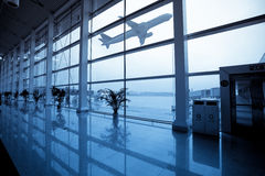 Flight departure Stock Images