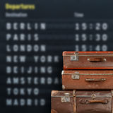 Flight destinations Stock Photography