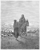 The Flight into Egypt Royalty Free Stock Images
