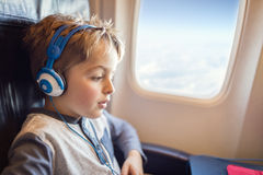 In flight entertainment Royalty Free Stock Image