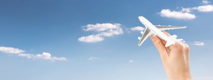 Flight fly travelling travel concept Royalty Free Stock Image