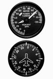 Flight Gauges Royalty Free Stock Photo