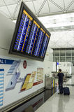 Flight Information Display Royalty Free Stock Photo